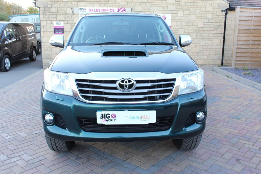 TOYOTA HI-LUX INVINCIBLE 4X4 D-4D 171 DOUBLE CAB WITH TRUCKMAN TOP - 8463 - 9