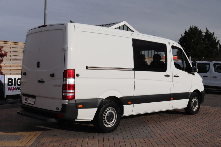 MERCEDES SPRINTER 313 CDI 129 MWB DOUBLE CAB 6 SEAT CREW VAN LOW ROOF - 11824 - 6