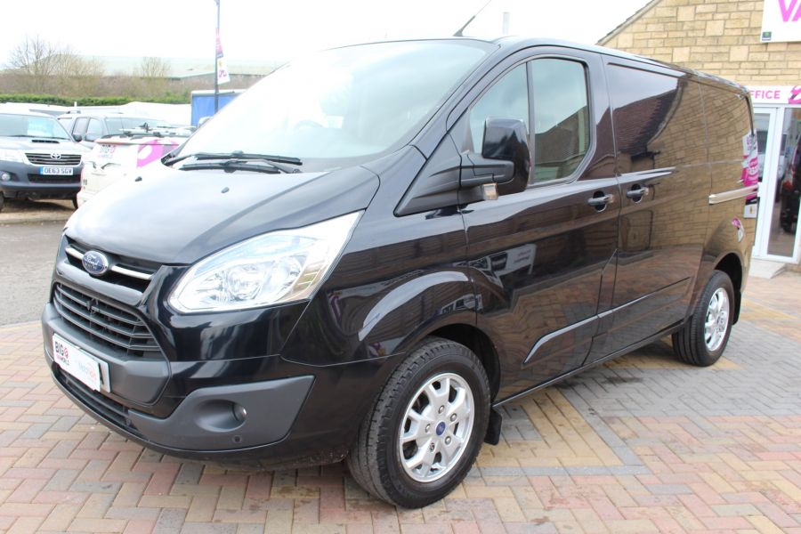 FORD TRANSIT CUSTOM 270 TDCI 155 L1 H1 LIMITED SWB LOW ROOF FWD - 7564 - 8