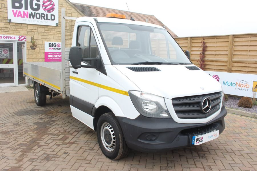MERCEDES SPRINTER 313 CDI LWB SINGLE CAB ALLOY DROPSIDE - 6885 - 3