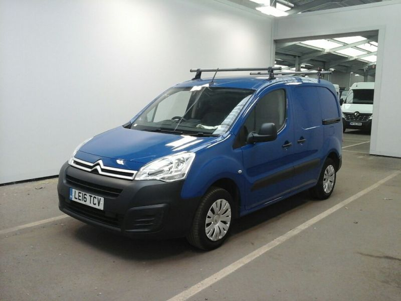 CITROEN BERLINGO 625 HDI 75 L1H1 ENTERPRISE SWB LOW ROOF - 9991 - 1