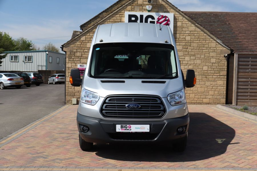 FORD TRANSIT 350 TDCI 155 L4H3 TREND 17 SEAT BUS HIGH ROOF DRW RWD  (13895) - 12177 - 11