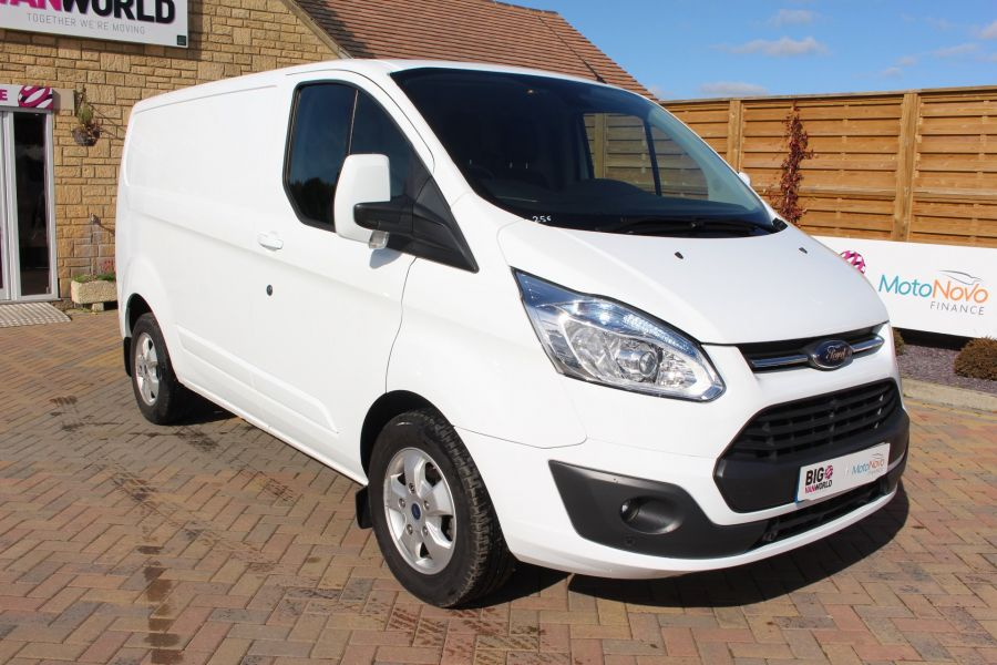 FORD TRANSIT CUSTOM 270 TDCI 125 L1 H1 LIMITED SWB LOW ROOF FWD - 6799 - 3
