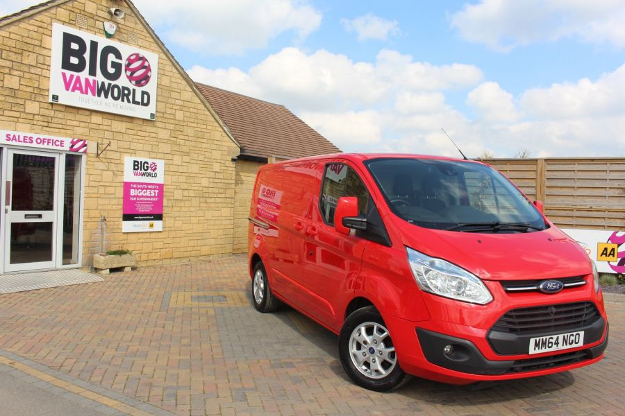 FORD TRANSIT CUSTOM 290 TDCI 125 L1 H1 LIMITED SWB LOW ROOF FWD - 9115 - 2