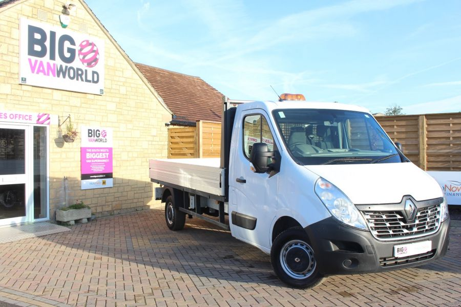 RENAULT MASTER LL35 DCI 125 BUSINESS LWB ALLOY DROPSIDE - 6657 - 1