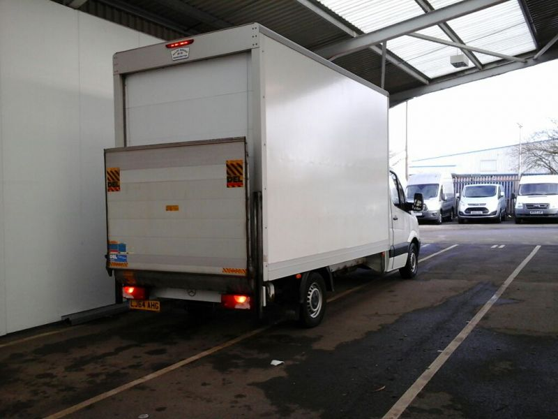 MERCEDES SPRINTER 313 CDI 129 LWB EXTRA HIGH ROOF LUTON WITH TAIL LIFT - 9047 - 2