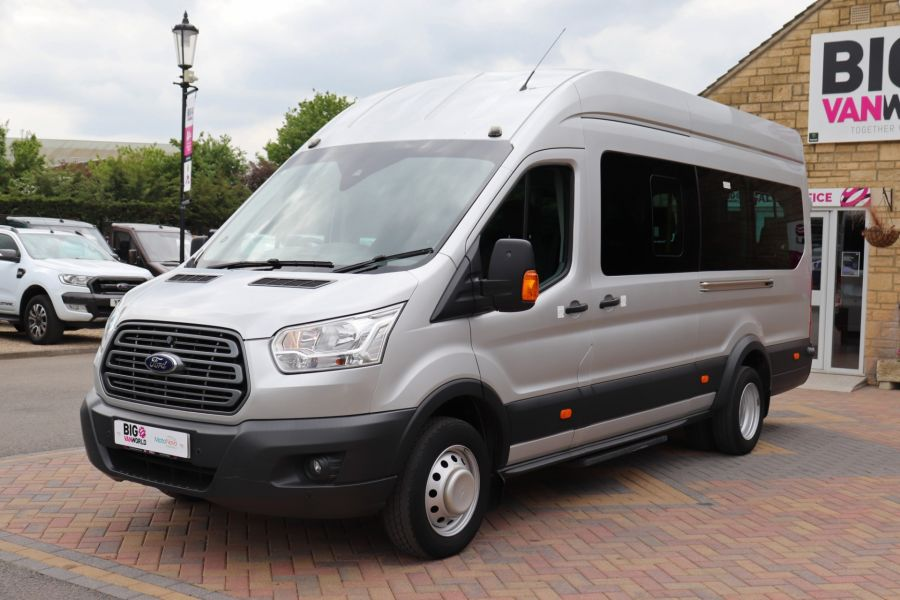 FORD TRANSIT 460 TDCI 155 L4H3 TREND 17 SEAT BUS HIGH ROOF DRW RWD - 11638 - 12