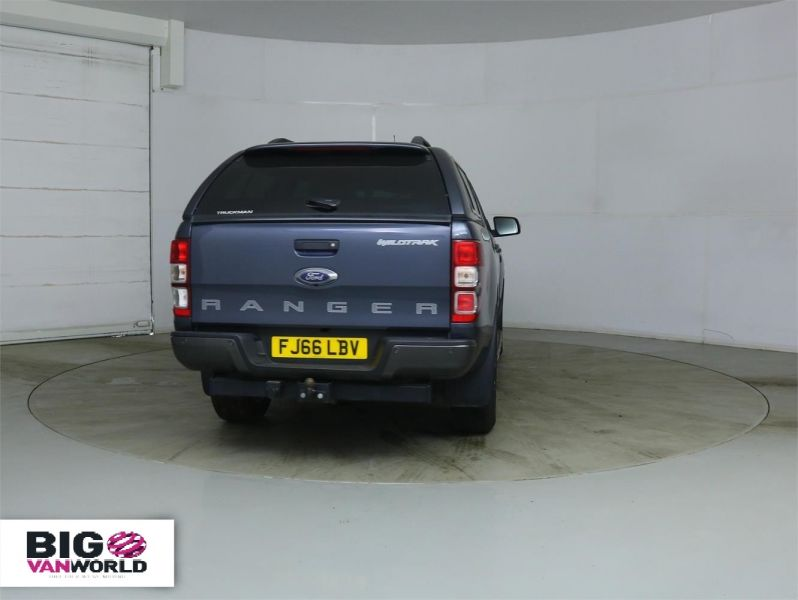 FORD RANGER WILDTRAK TDCI 200 4X4 DOUBLE CAB WITH TRUCKMAN TOP - 8963 - 4