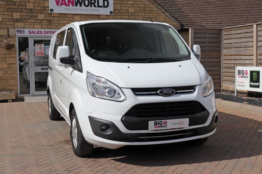 FORD TRANSIT CUSTOM 310 TDCI 130 L2H1 LIMITED DOUBLE CAB 6 SEAT CREW VAN LWB LOW ROOF FWD  (13819) - 12104 - 5