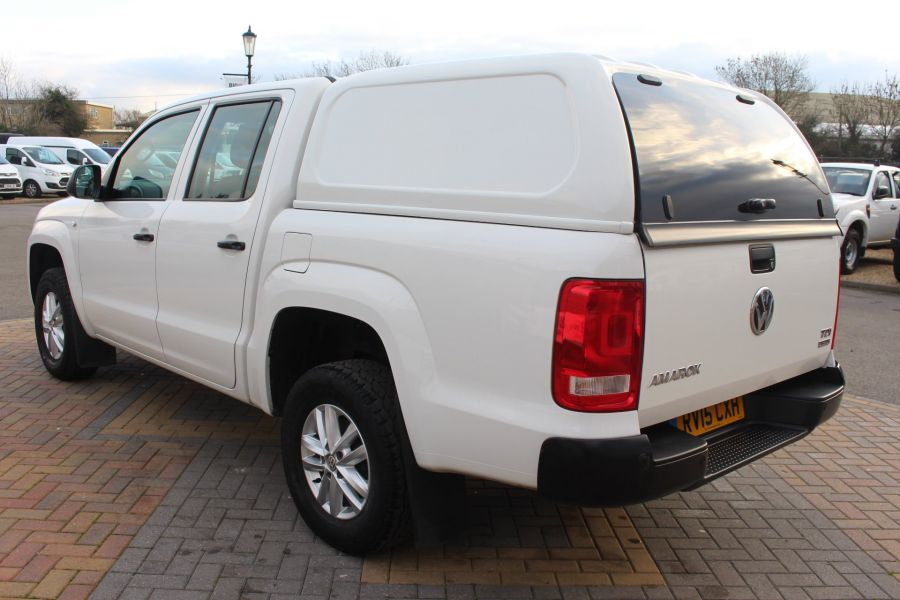 VOLKSWAGEN AMAROK DC TDI 140 STARTLINE 4MOTION DOUBLE CAB WITH TRUCKMAN TOP - 8652 - 7