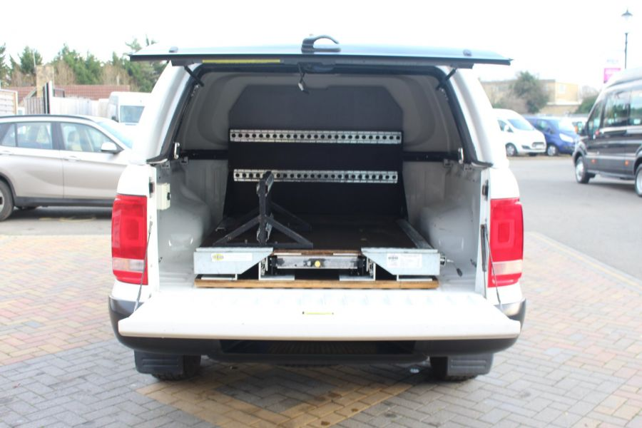 VOLKSWAGEN AMAROK DC TDI 140 STARTLINE 4MOTION DOUBLE CAB WITH TRUCKMAN TOP - 8652 - 22