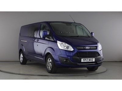 FORD TRANSIT CUSTOM 290 TDCI 130 L2H1 LIMITED DOUBLE CAB 6 SEAT CREW VAN LWB LOW ROOF - 11216 - 1