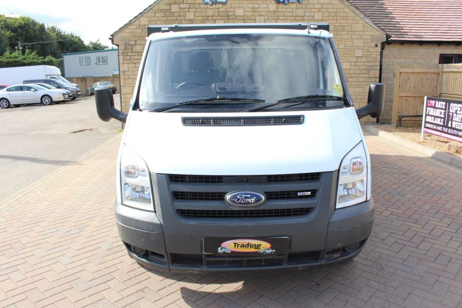 FORD TRANSIT 350 MWB SINGLE CAB HIGH SIDED ARBORIST ALLOY TIPPER - 6153 - 8