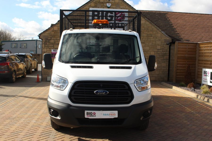 FORD TRANSIT 350 TDCI 125 SINGLE CAB 'ONE STOP' CAGED TIPPER DRW RWD - 7297 - 16