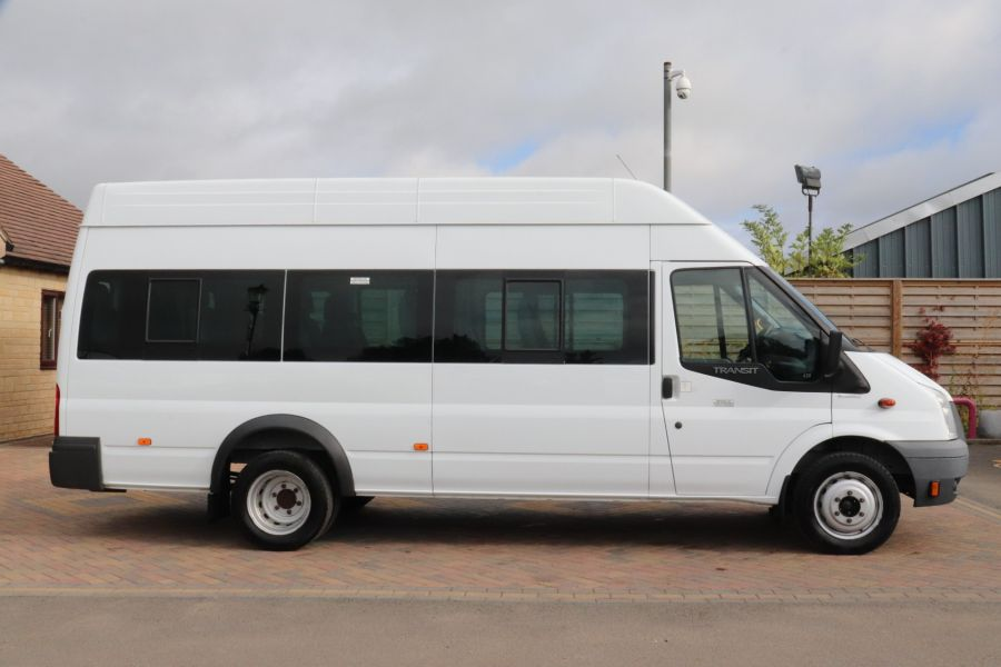 FORD TRANSIT 430 TDCI 135 EL LWB 17 SEAT BUS WITH WHEELCHAIR ACCESS HIGH ROOF DRW RWD - 9665 - 4