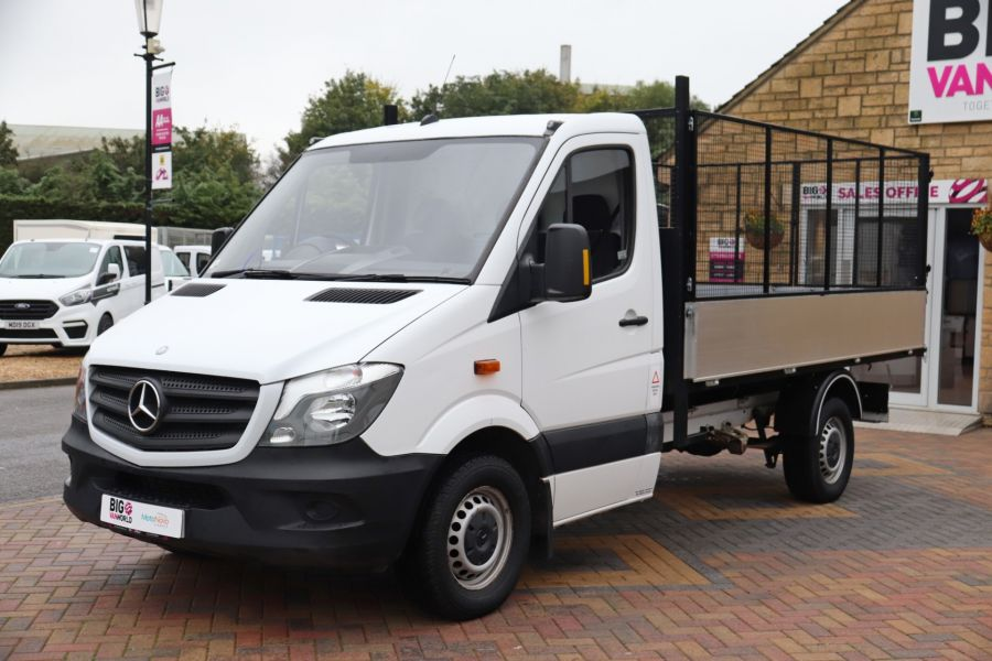 MERCEDES SPRINTER 313 CDI 129 MWB SINGLE CAB NEW BUILD ALLOY CAGED TIPPER - 9685 - 9