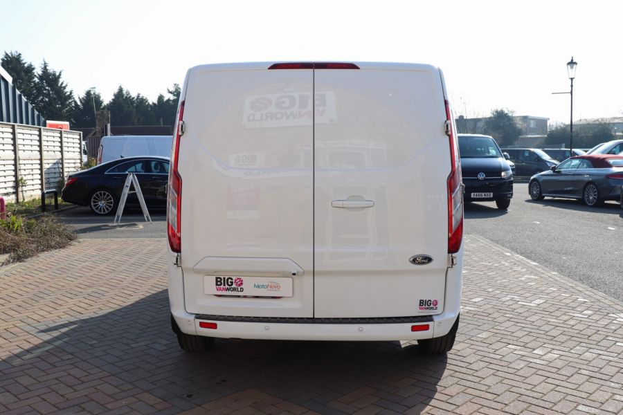 FORD TRANSIT CUSTOM 340 TDCI 130 L1H1 LIMITED SWB LOW ROOF FWD - 10566 - 7