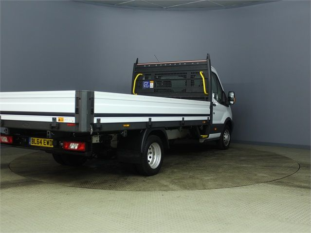 FORD TRANSIT 350 TDCI 125 DRW L4 SINGLE CAB 'ONE STOP' ALLOY DROPSIDE - 7187 - 2