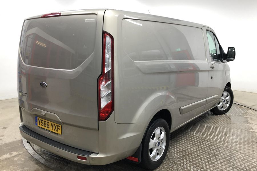 FORD TRANSIT CUSTOM 290 TDCI 170 L1H1 LIMITED SWB LOW ROOF FWD - 12194 - 6