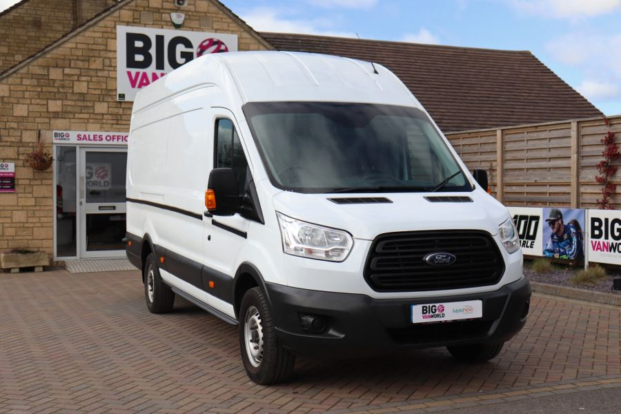 FORD TRANSIT 350 TDCI 125 L4H3 JUMBO HIGH ROOF RWD - 10472 - 4