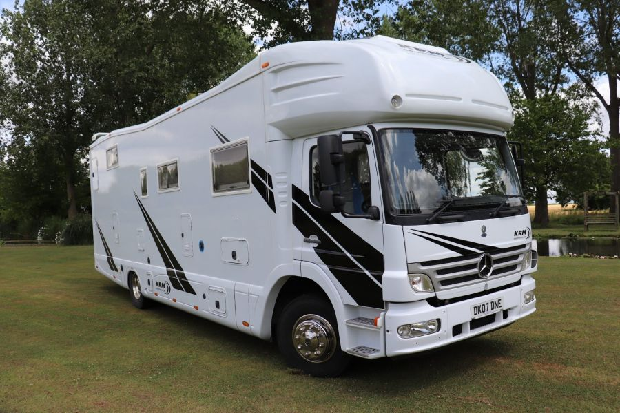 MERCEDES KRM MB1628 32FT 6 BERTH MOTORHOME / SPORTHOME  - 9783 - 1