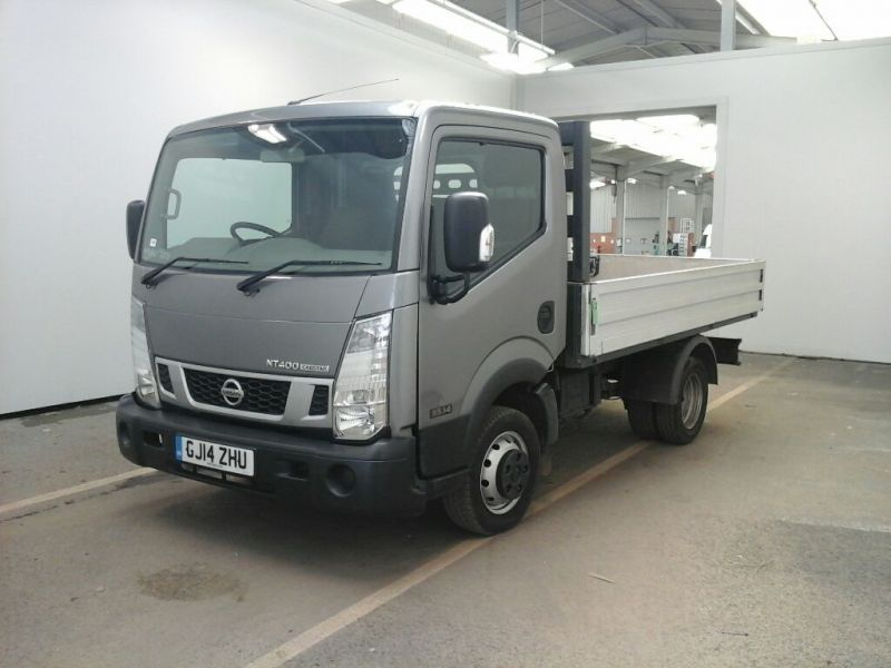 NISSAN NT400 CABSTAR 35.14 DCI 136 BHP SWB ALLOY DROPSIDE DRW - 9272 - 1