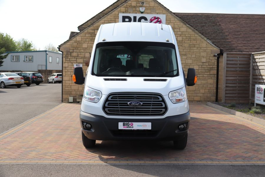 FORD TRANSIT 460 TDCI 125 L4H3 TREND 17 SEAT BUS HIGH ROOF DRW RWD - 10326 - 11