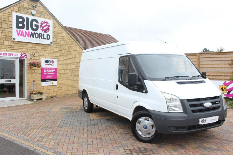 FORD TRANSIT 350 TDCI 115 LWB MEDIUM ROOF RWD - 8295 - 2