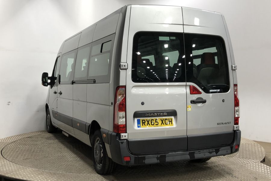 RENAULT MASTER LM39 DCI 150 BUSINESS LWB 17 SEAT BUS MEDIUM ROOF - 12070 - 4