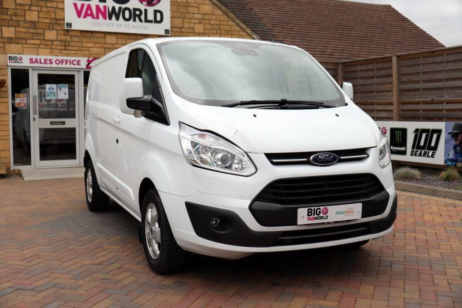 FORD TRANSIT CUSTOM 310 TDCI 130 L1H1 LIMITED SWB LOW ROOF - 11931 - 6