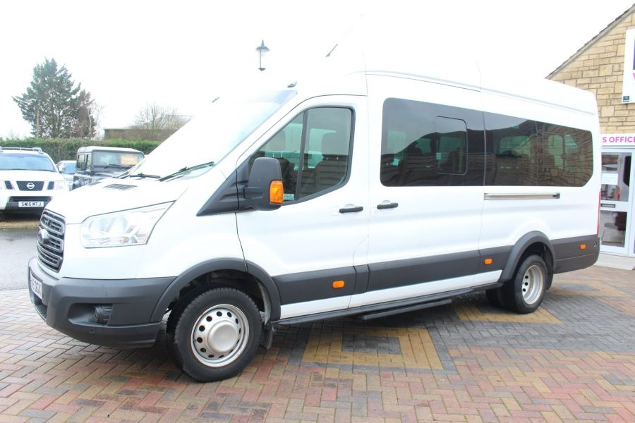FORD TRANSIT 460 TDCI 125 TREND L4 H3 HIGH ROOF 17 SEAT BUS - 8551 - 8
