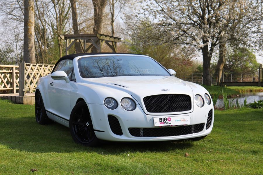BENTLEY CONTINENTAL GTC SUPERSPORTS - 10504 - 12
