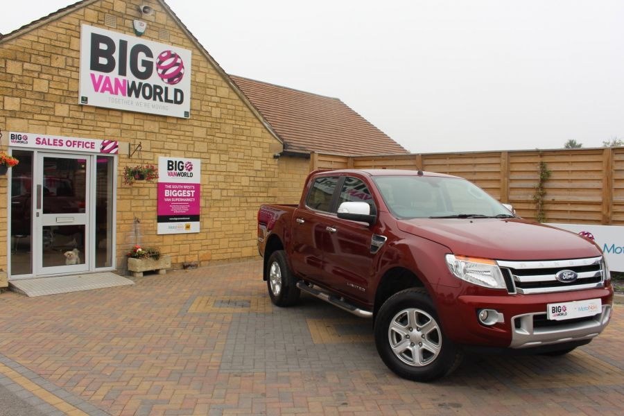FORD RANGER TDCI 150 LIMITED 4X4 DOUBLE CAB - 8027 - 2
