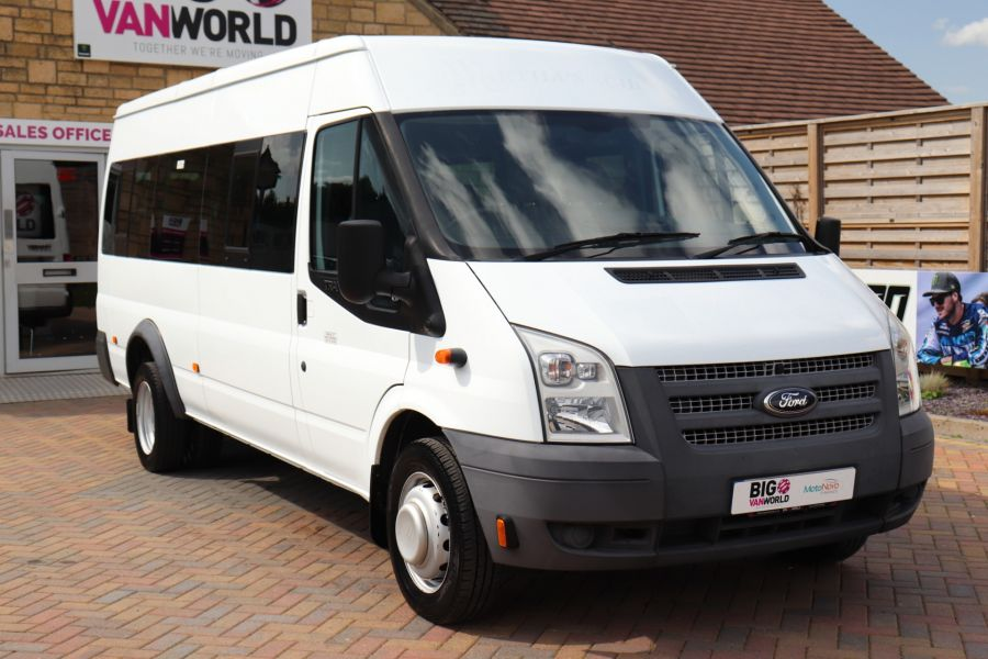 FORD TRANSIT 430 TDCI 135 EL LWB 17 SEAT BUS MEDIUM ROOF DRW RWD - 9732 - 3