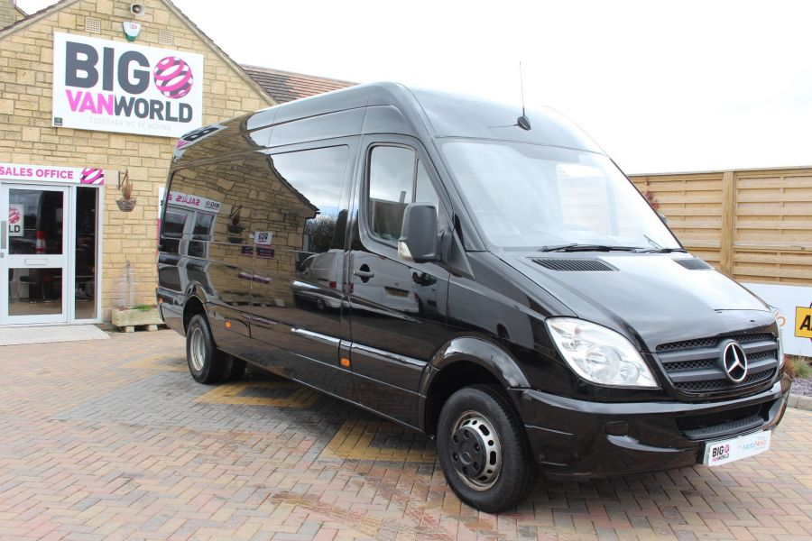 MERCEDES SPRINTER 511 CDI LWB HIGH ROOF TWIN REAR WHEEL 6 SEAT CREW VAN - 3246 - 3