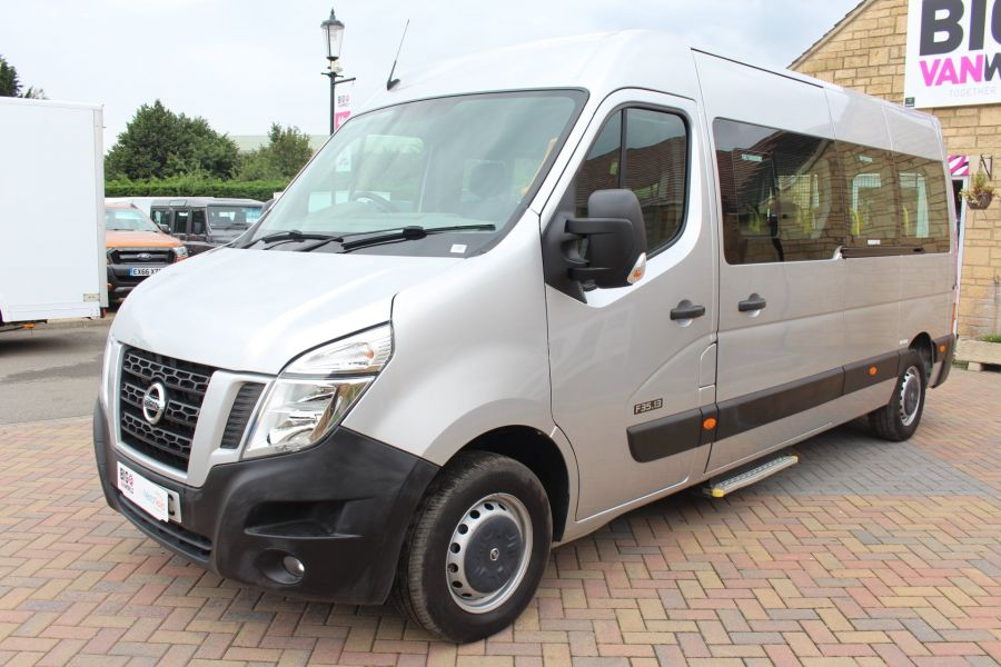 NISSAN NV400 F35 DCI 125 L3 H2 SE LWB MEDIUM ROOF 13 SEAT BUS - 6485 - 8