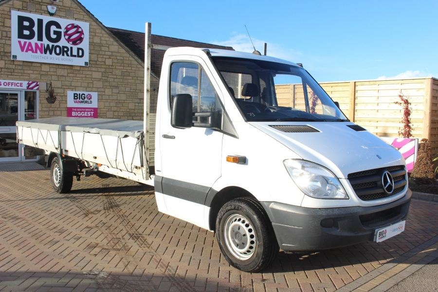 MERCEDES SPRINTER 313 CDI EF XLWB 20FT ALLOY DROPSIDE - 7008 - 3