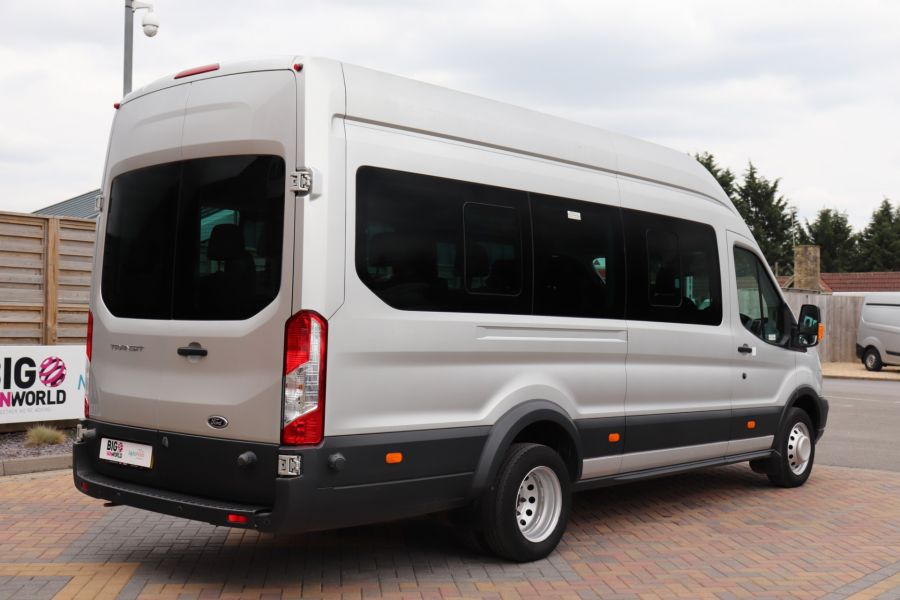 FORD TRANSIT 460 TDCI 155 L4H3 TREND 17 SEAT BUS HIGH ROOF DRW RWD - 11638 - 8