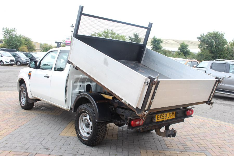 FORD RANGER XL 4X4 TDCI SUPER CAB ALLOY TIPPER - 6057 - 7