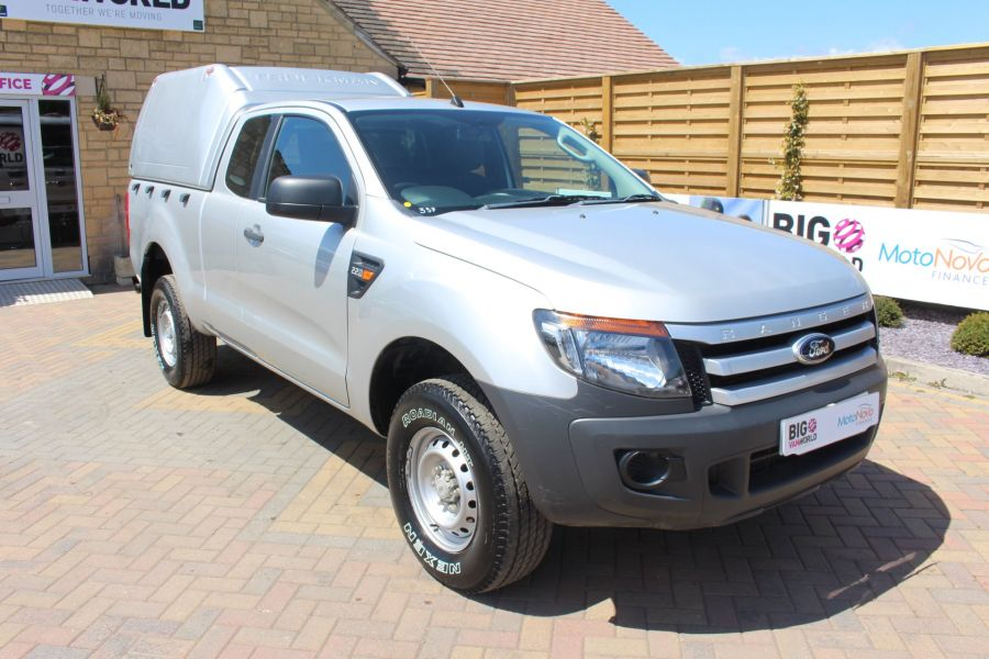 FORD RANGER XL 4X4 TDCI 150 SUPER CAB WITH TRUCKMAN TOP - 6276 - 3