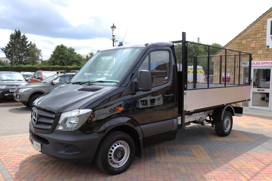 MERCEDES SPRINTER 313 CDI 129 MWD SINGLE CAB NEW BUILD ALLOY CAGED TIPPER - 10235 - 9