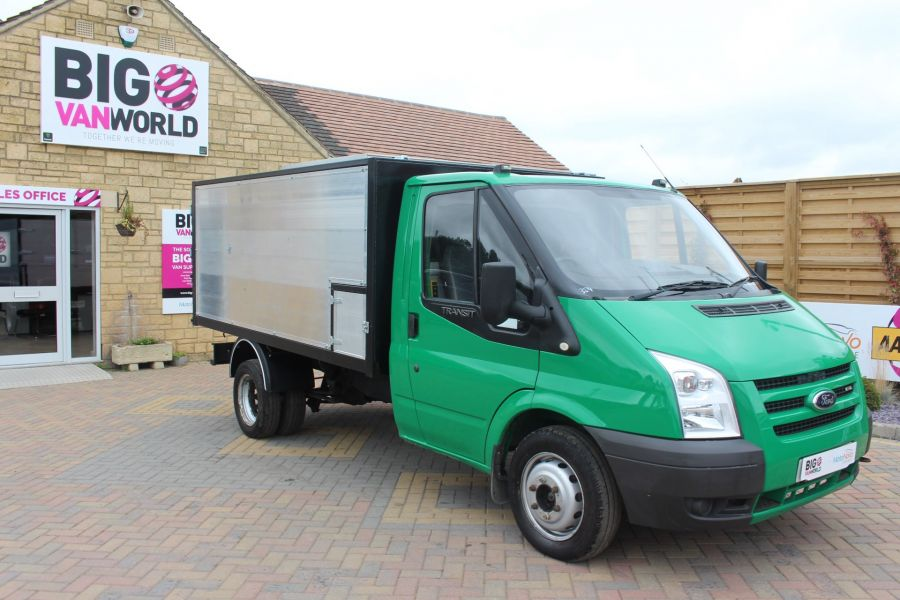 FORD TRANSIT 350 TDCI MWB SINGLE CAB NEW ALLOY ARBORIST TIPPER - 6565 - 11
