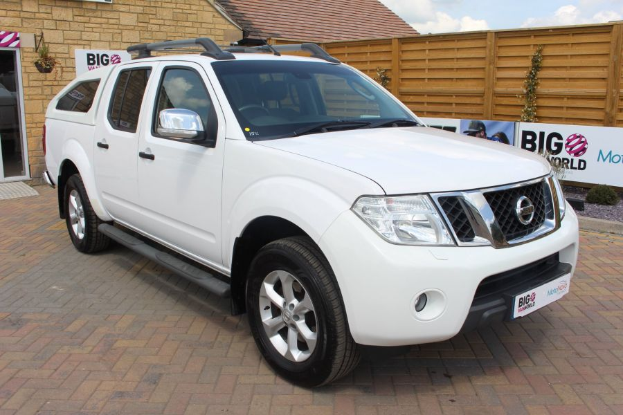 NISSAN NAVARA DCI 190 TEKNA CONNECT 4X4 DOUBLE CAB WITH SPORT TRUCKMAN TOP - 6296 - 3