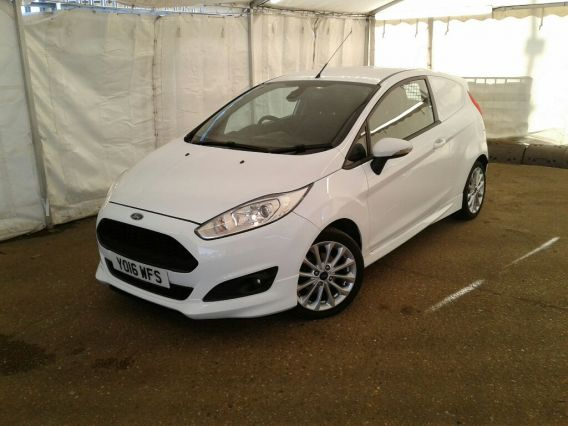 Used FORD FIESTA in Used Vans Swindon for sale