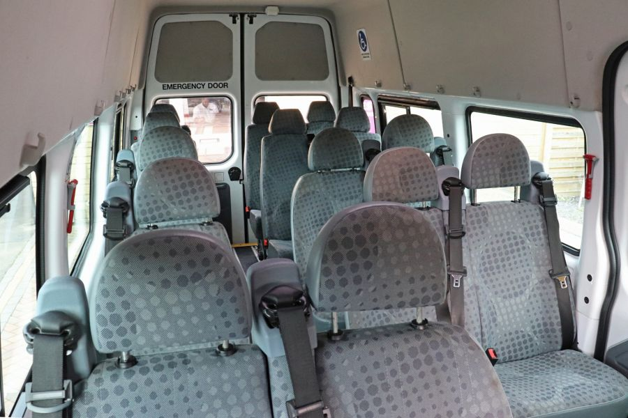 FORD TRANSIT 430 TDCI 135 EL LWB 17 SEAT BUS WITH WHEELCHAIR ACCESS HIGH ROOF DRW RWD - 9665 - 35