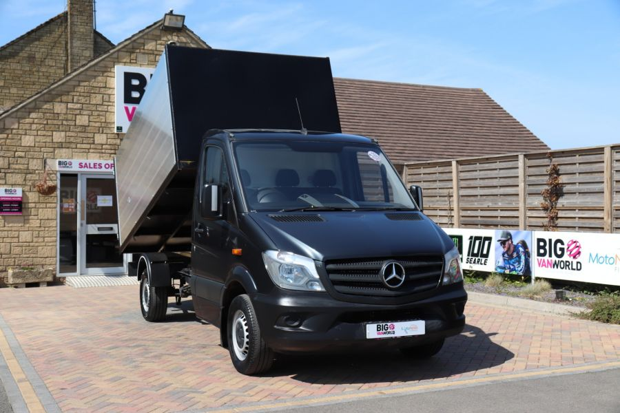 MERCEDES SPRINTER 313 CDI 129 SINGLE CAB NEW BUILD HIGH SIDED ALLOY TIPPER - 9672 - 4
