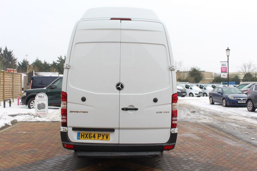 MERCEDES SPRINTER 316 CDI 163 BHP LWB SUPER HIGH ROOF - 7351 - 6
