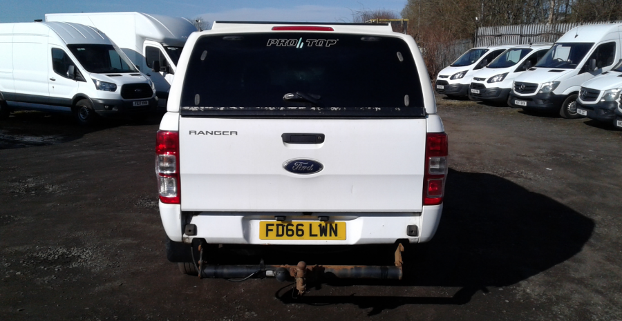 FORD RANGER TDCI 160 XL 4X4 DOUBLE CAB WITH TRUCKMAN TOP  (14253) - 12512 - 5