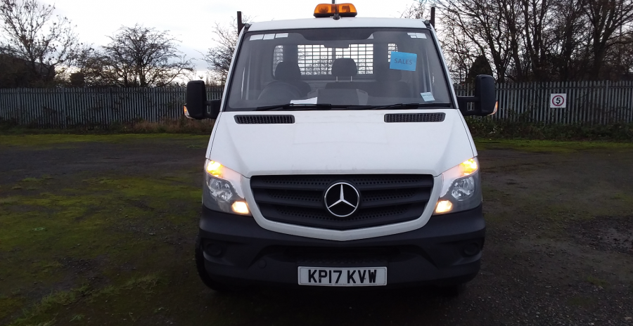 MERCEDES SPRINTER 314 CDI 140 MWB SINGLE CAB 'ONE STOP' ALLOY TIPPER  (13721) - 12170 - 8