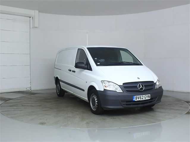 MERCEDES VITO 116 CDI 163 COMPACT SWB LOW ROOF - 7571 - 1